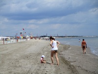 Am Strand in Sottomarina
