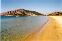 Golden Beach, Navarino Bucht bei Pylos