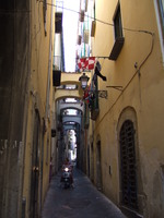 Gasse in Salerno