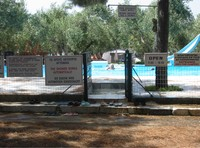 Camping Meltemi - der Pool