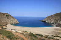Traumstrand auf Andros