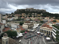 "Blick vom ""A for Athens"""