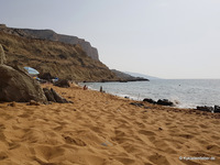 Der Red Beach bei Matala